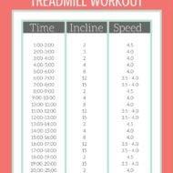 Walking HIIT Treadmill Workout