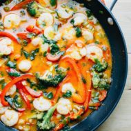 Easy Coconut Curry Shrimp