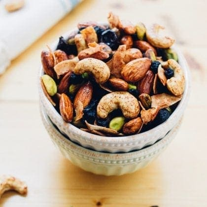 Maple Cinnamon Breakfast Trail Mix