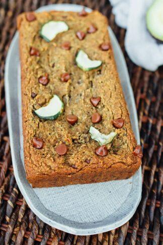 Vegan Zucchini Bread with Almond Flour (Oil-Free)