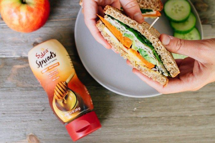 Packable Autumn-Inspired Turkey Sandwich