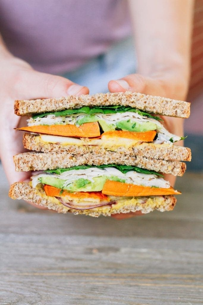 Sweet Autumn Turkey Sandwich