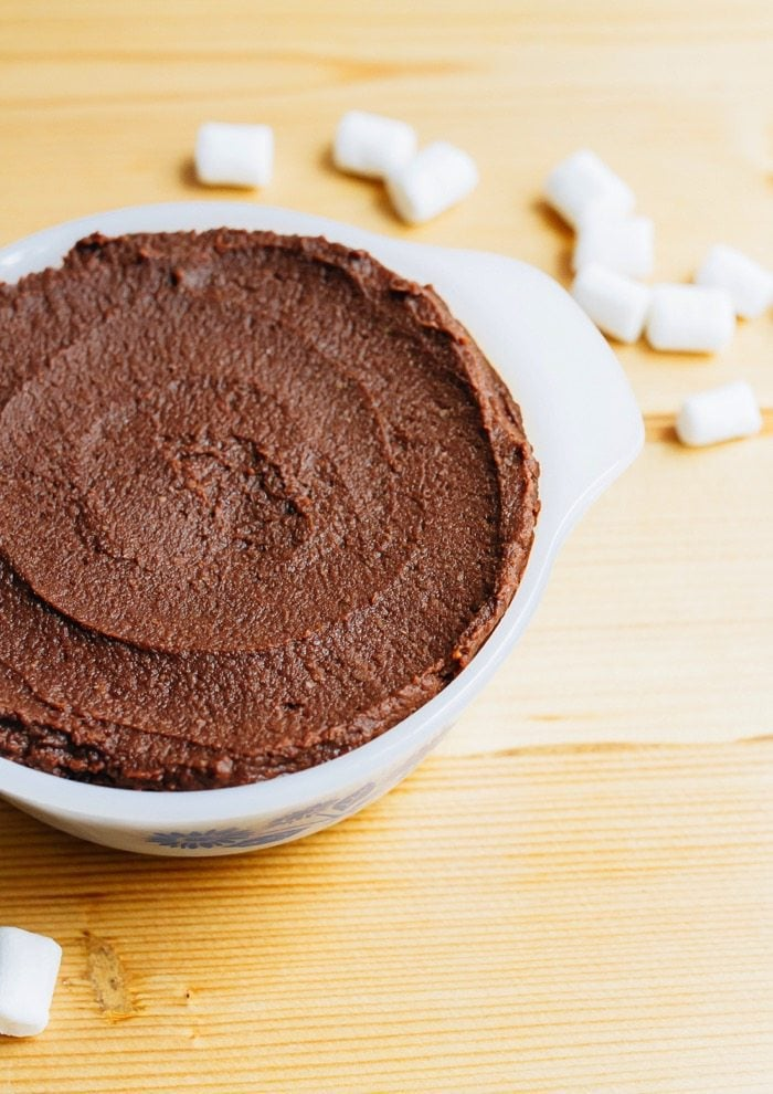 Brownie Batter Hummus Dip