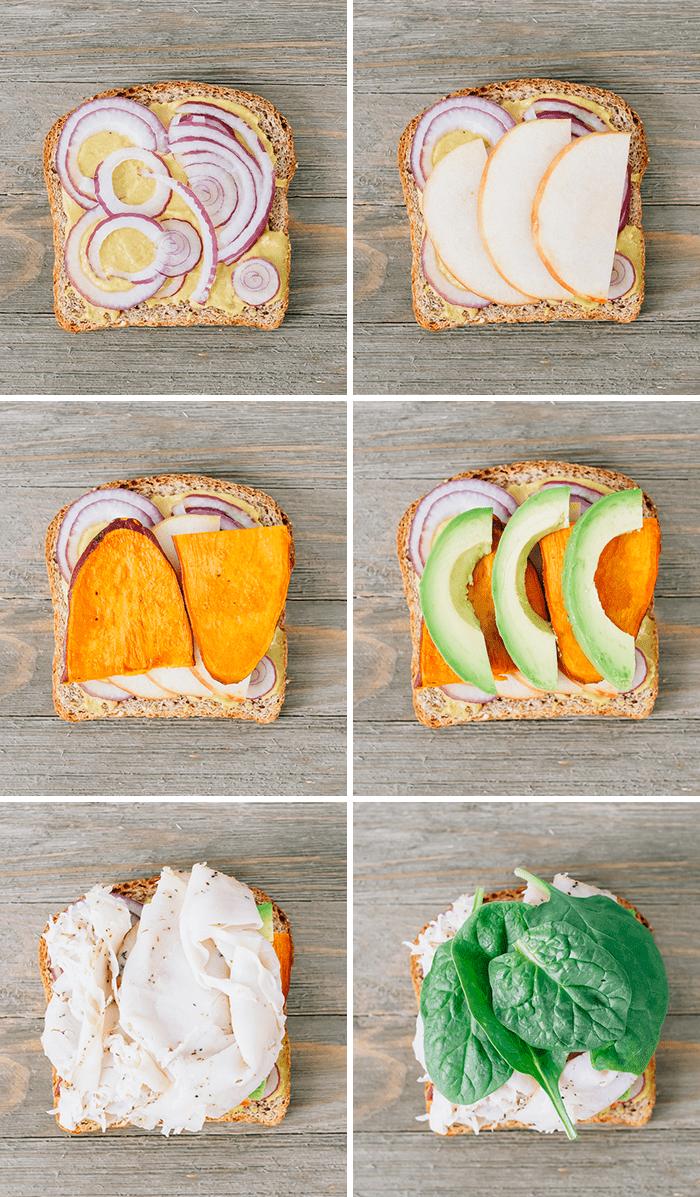 Autumn Turkey Sandwich