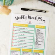 How to Be a Meal Planning Maven + FREE Meal Planning Printable