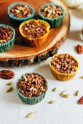 Healthy Baked Chai Oatmeal Cups