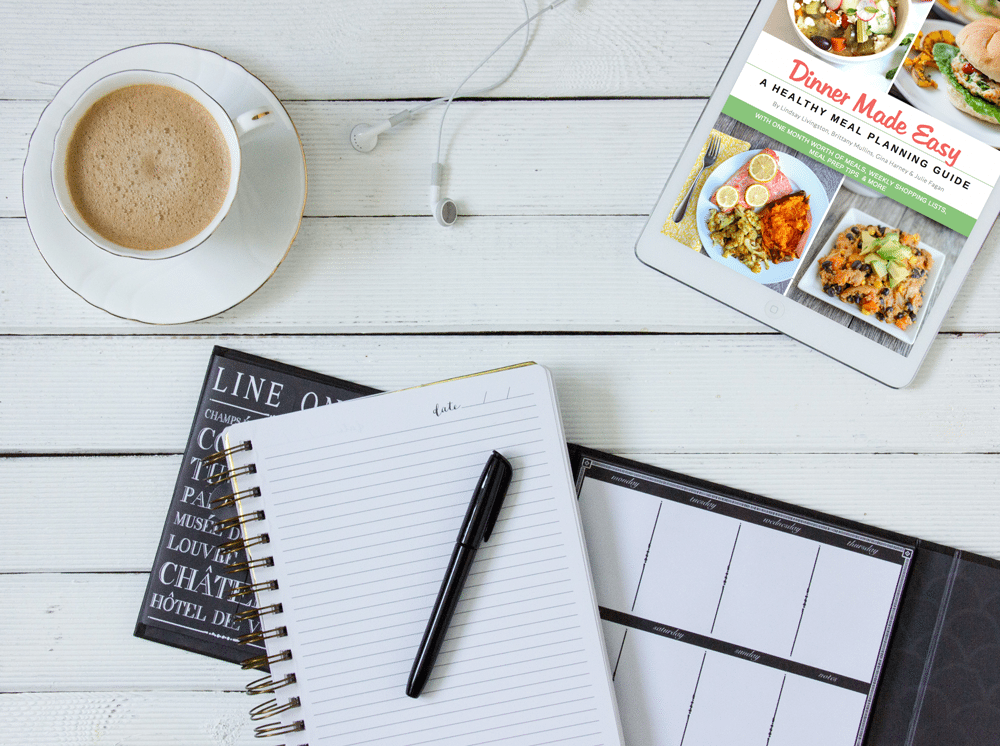 Dinner Made Easy Ebook -- A Healthy Meal Planning Guide