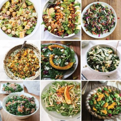 Healthy Fall Salads to Make Right Now