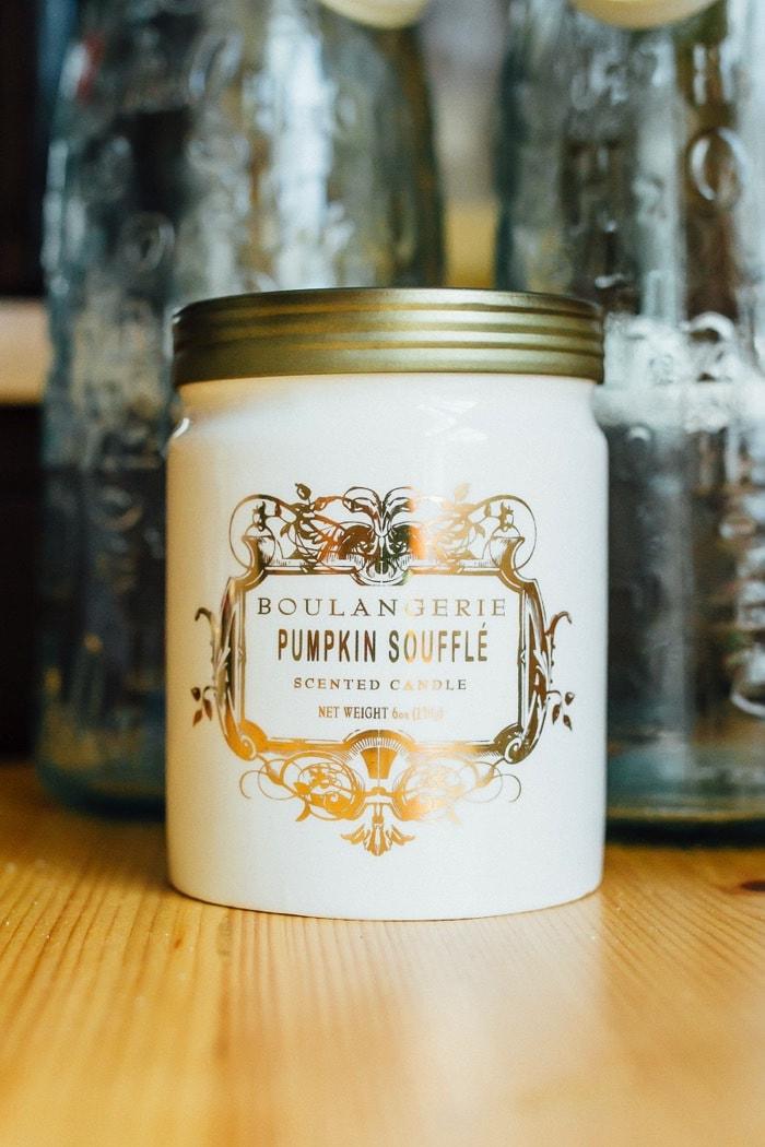 Pumpkin Soufflé Candle