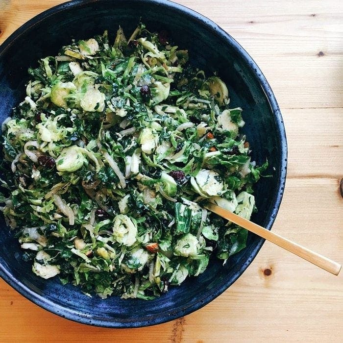 Kale & Brussels Salad
