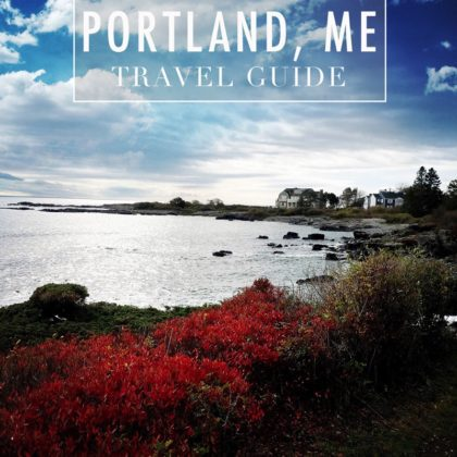 A Fall Weekend in Portland, Maine