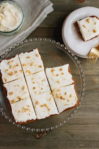 Paleo-Friendly Carrot Cake Bars
