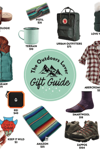 Gift Guide for the Outdoor Lover