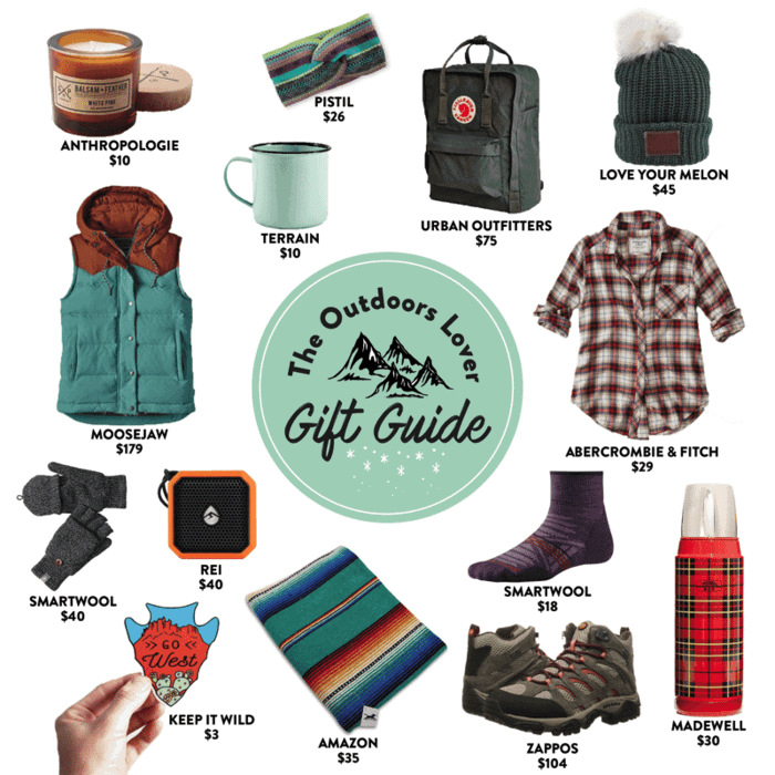 The Outdoor Lovers Gift Guide