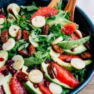 Grapefruit Avocado Salad with Hearts of Palm