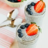 4 Ingredient Chia Seed Pudding