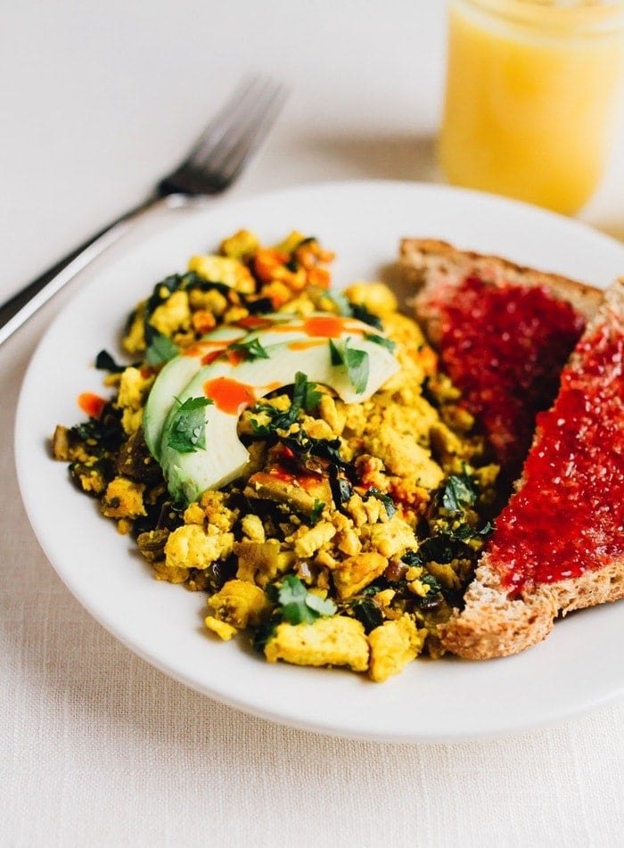 You'll love the flavor of this protein-packed vegan tofu scramble ...