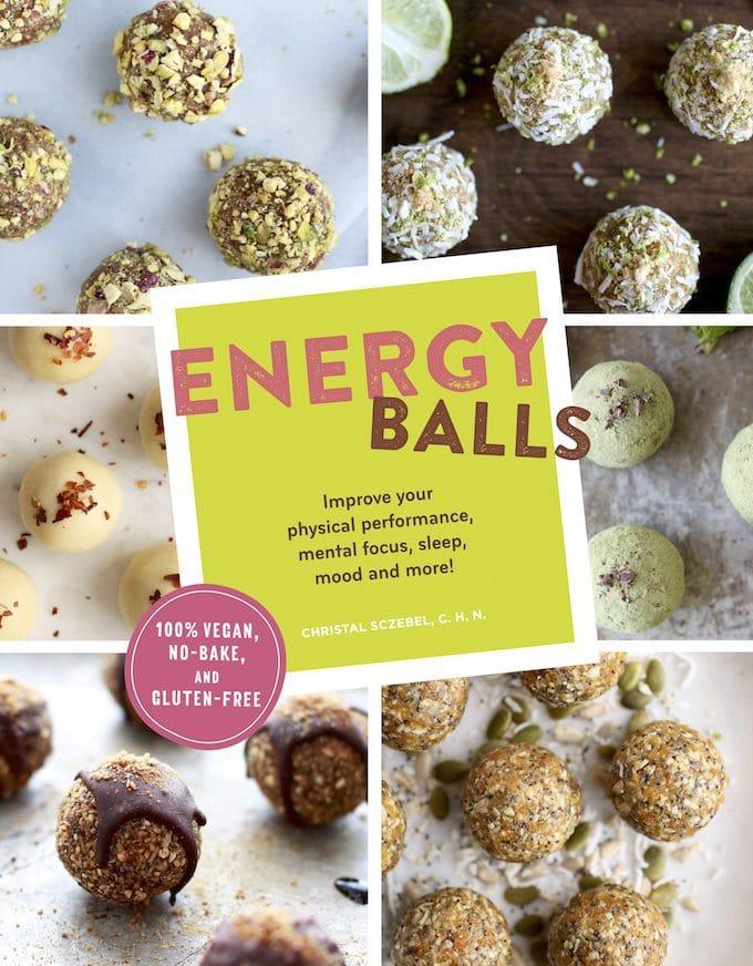 Energy Balls Cookbook Cover
