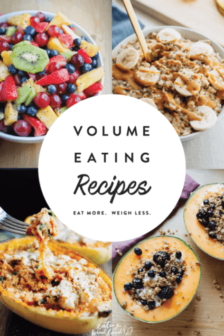 The Best Volume Eating Recipes