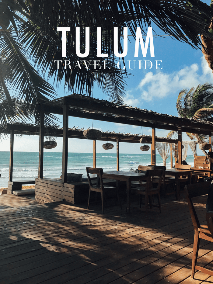 TULUM Travel Guide with where to stay, eat and play while visiting the beautiful Tulum. Enjoy the white sandy beaches, Mayan culture and delicious food.