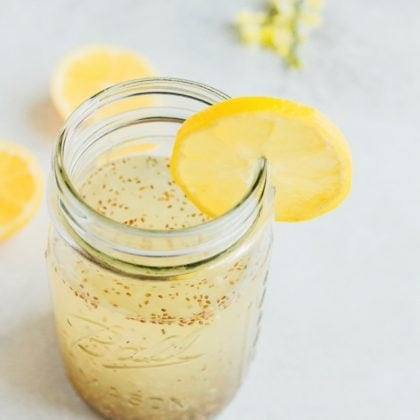 Lemon Chia Fresca