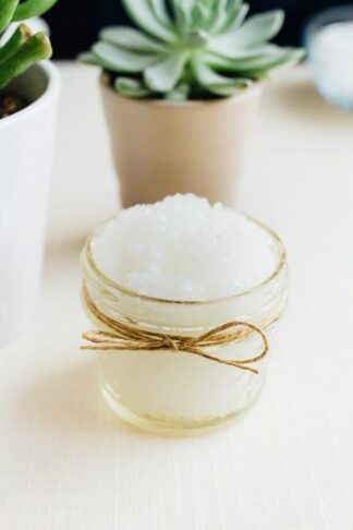 3-Ingredient Foaming Peppermint Foot Scrub for Runners