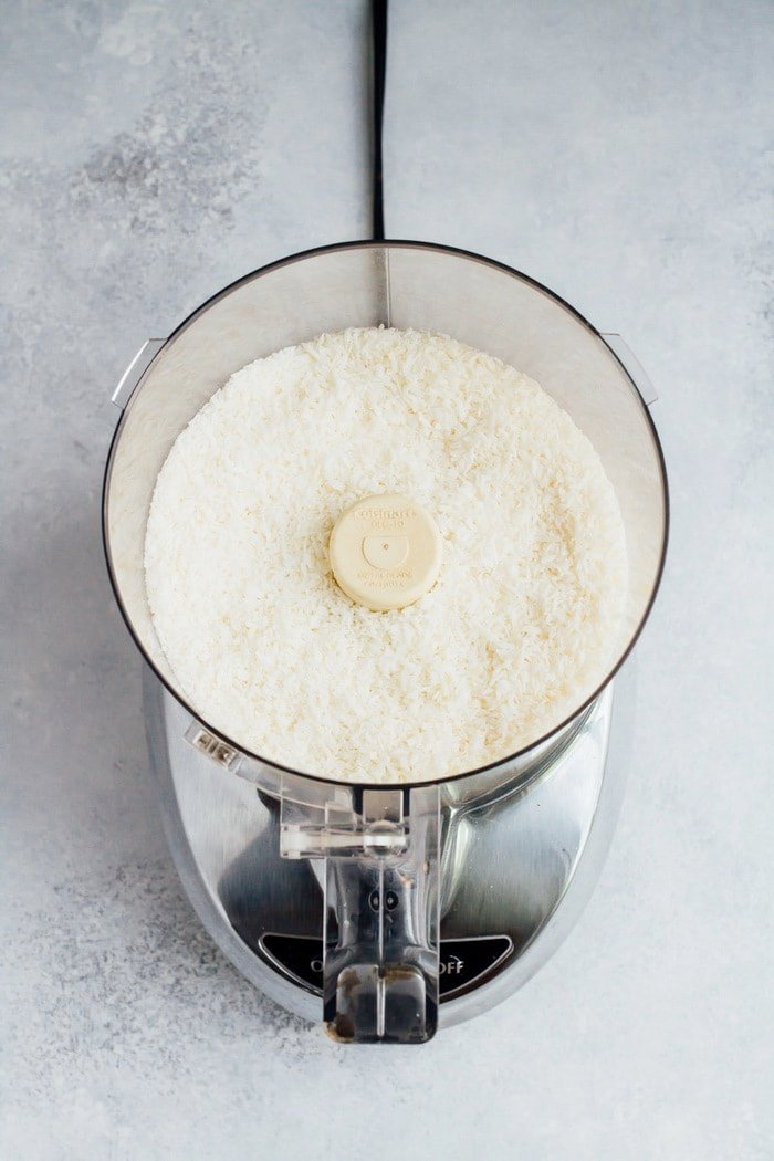 Making Coconut Butter in your Food Processor