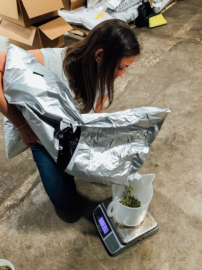 Weighing the Hops