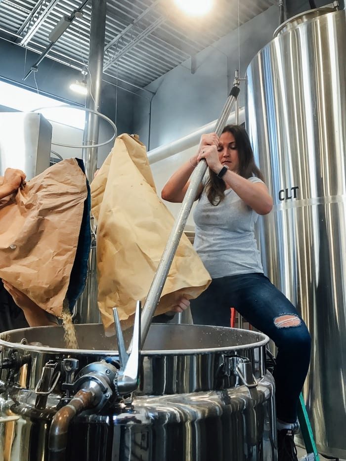 Stirring the Mash Tun // The Veil Brewing Co