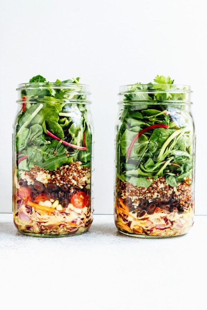 Fiesta Mason Jar Salad