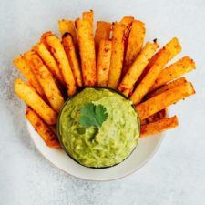 Baked Jicama Fries