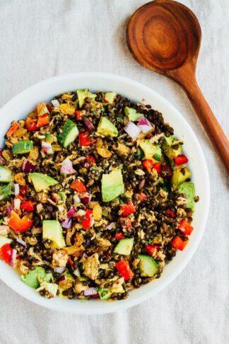 Lentil Tuna Salad
