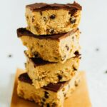 Healthy Cookie Dough Bars Low Sugar Eating Bird Food