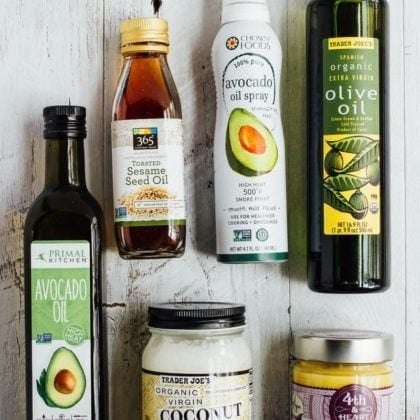 My Fav Healthy Cooking Oils