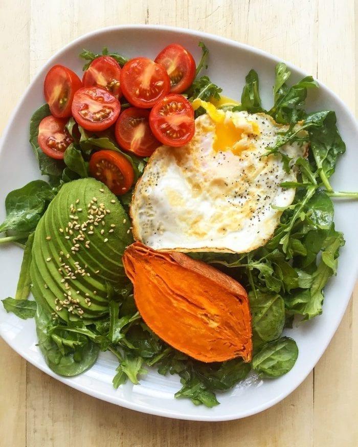 Balanced Breakfast Salad from Fresh Planet Flavor