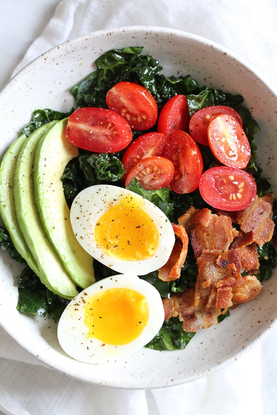 Breakfast BLT Salad from Skinnytaste