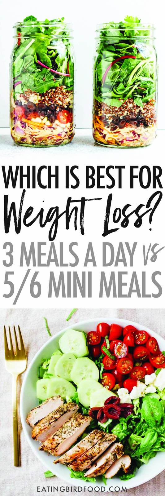 We've been told for years that the key to healthy eating, weight loss and weight management is eating 5/6 mini meals throughout the day, but is it right for everyone?