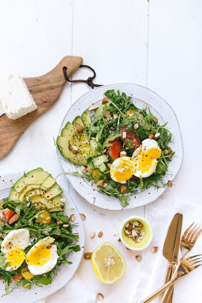 Mediterranean Breakfast Salad from Camille Styles