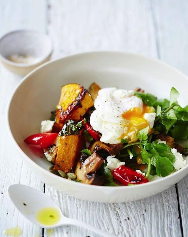 Nourishing Breakfast Salad from PopSugar