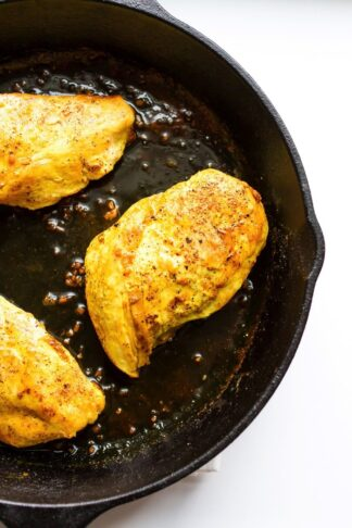 Maple Turmeric Chicken