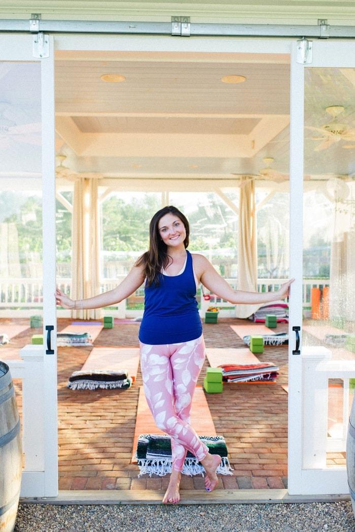 Veritas yoga retreat experience eating bird food for Yoga and wine retreat