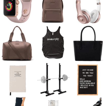 Gift Guide for Health & Fitness Lovers