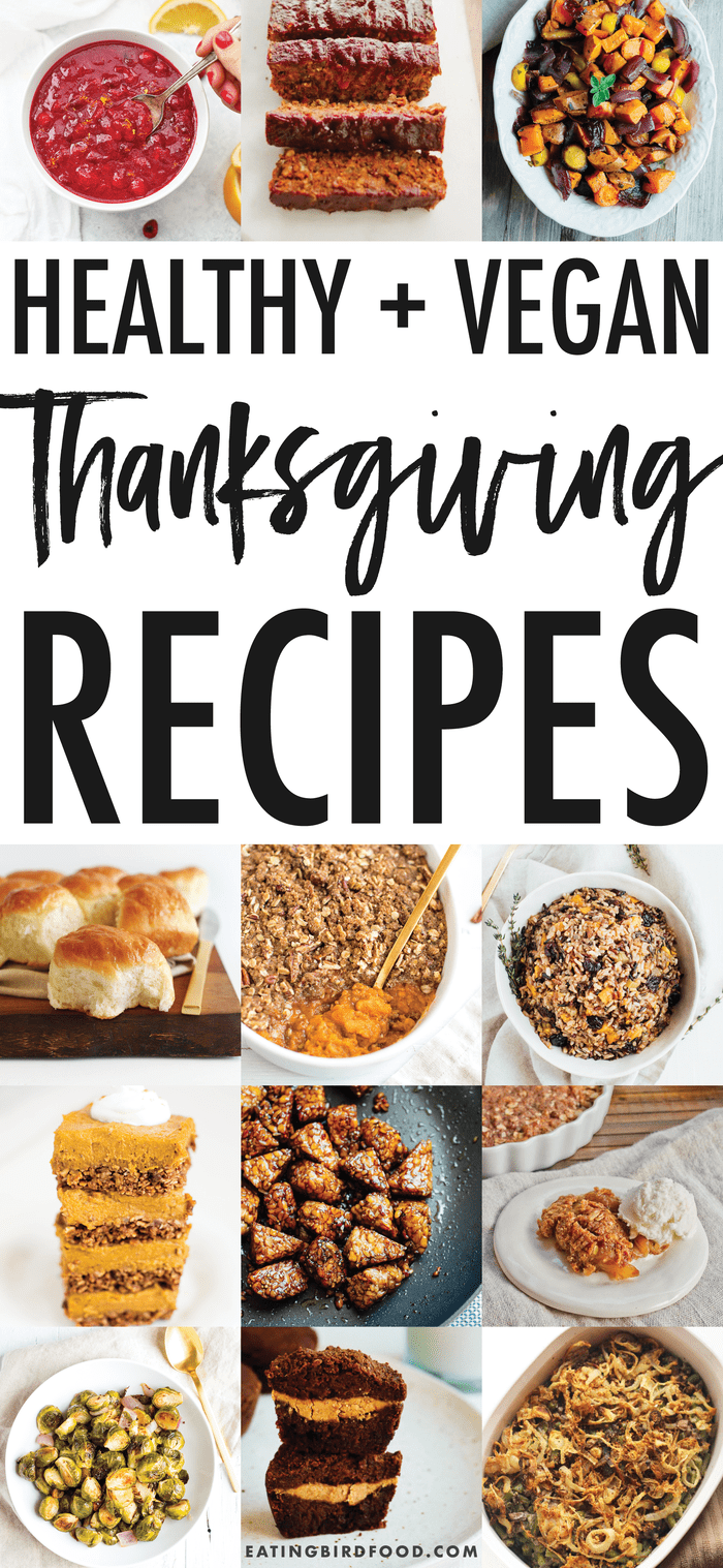 Healthy Vegan Thanksgiving Recipes // Add these dishes to your menu today!