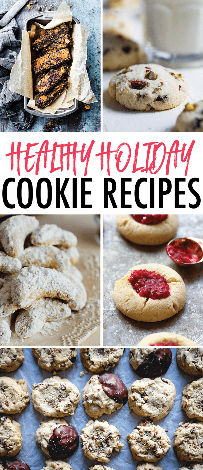 Healthy Holiday Cookie Recipes