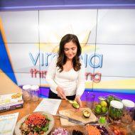 EBF on CBS6 Making Mason Jar Salads!