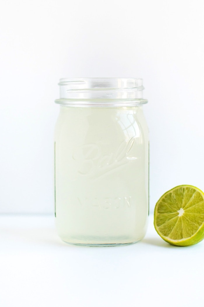 Limeade Apple Cider Vinegar Drink