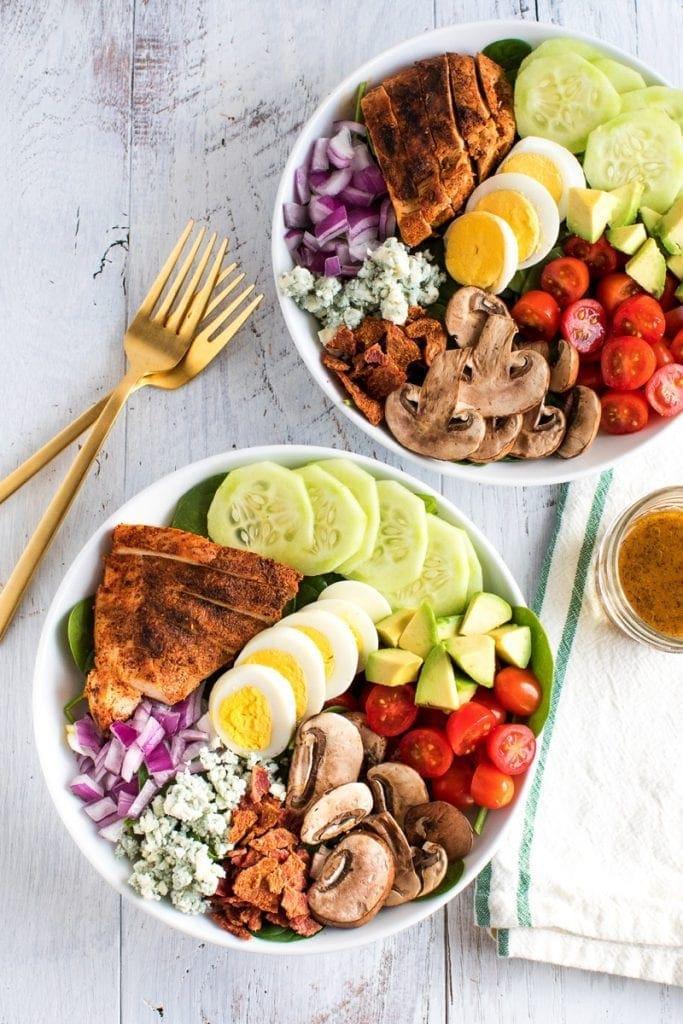 Blackened Chicken Cobb Salad