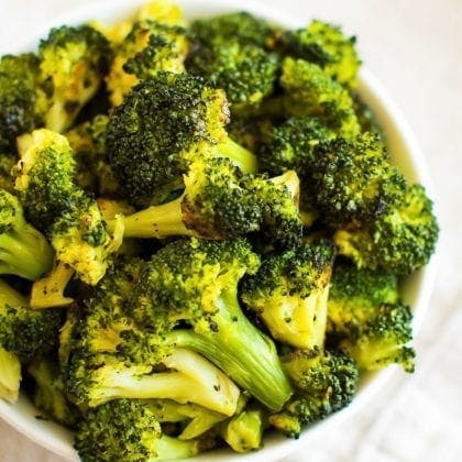 Roasted Frozen Broccoli Healthy Cooking Hack