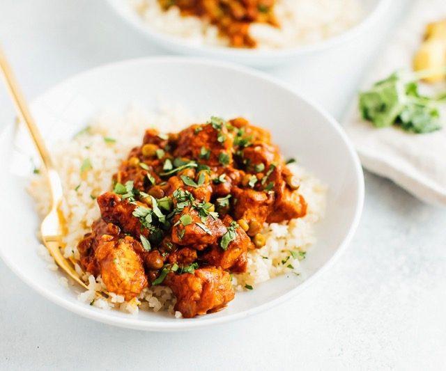 Cooking with Tempeh: Vegan Tempeh Tikka Masala