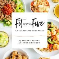 The Fit With Five 5-Ingredient Clean Eating Recipe ebook is Here!
